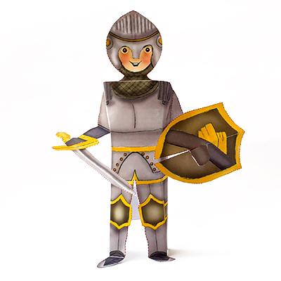 אביר מאוייר מנייר לגזירה ולהרכבה