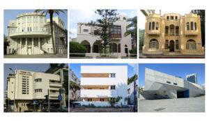 בית העיר, בית ביאליק, בית ליטוינסקי, מוזיאון תל אביב, בית ליבלינג, בית יעקבזון.
